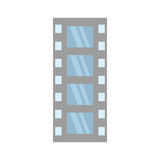 Film strip negative equipment video. Vector illustration esp 10 Royalty Free Stock Photography