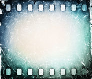 Film strip. Old grunge film strip background Royalty Free Stock Photo