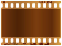 Film strip. Real color vector illustration. White background. Film strip. Real color vector illustration Stock Images