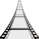 Film strip reel Royalty Free Stock Photo