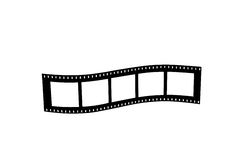 Film strip roll Stock Photography