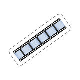 Film strip roll movie image Royalty Free Stock Images