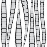 Film strip. Seamless backgroud with film strips Stock Photo