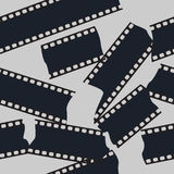 Film strip seamless. Pattern background Stock Image