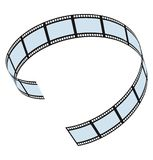 Film strip. See my other works in portfolio Stock Photography
