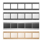 Film Strip Set. Vector Royalty Free Stock Photo