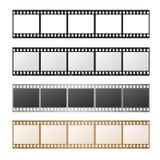 Film Strip Set. Vector Royalty Free Stock Photo