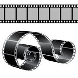 Film strip  template Stock Photo