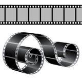 Film strip  template. Film strip and film-rolltemplate Stock Photo