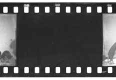 Film strip texture Royalty Free Stock Images