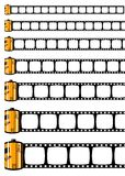 Film strip ( Vector ) Stock Images