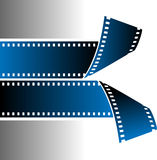 Film strip. Vector illustration of film strip Royalty Free Stock Photos