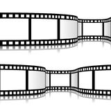 Film strip vector illustration. On white background Royalty Free Stock Images
