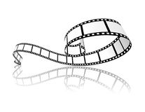 Film strip vector illustration. On white background Stock Photography