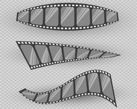 Film strip vector illustration. Vector illustration. On a transparent background Royalty Free Stock Photo