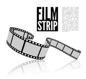 Film strip vector illustration Royalty Free Stock Images