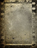 Film strip, vintage. Film strip, vintage photographic background Stock Photography