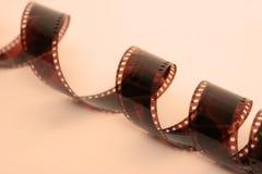 Film Strip Warm Tones Royalty Free Stock Photo