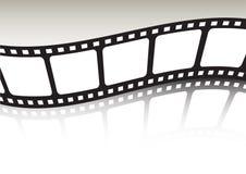 Film Strip Waved Stock Photos