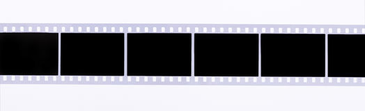 Film strip. On the white background Stock Photography