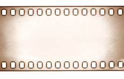 Film strip on white background Stock Photography