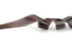 Film strip on white background Royalty Free Stock Photography