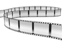 Film strip. On white background Royalty Free Stock Photos