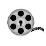 Film strip. On white background.film icon Stock Image
