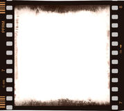 Film Strip With Empty Central Part In Color Royalty Free Stock Image
