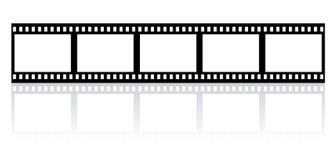 Film stripe. Illustration of a simple film stripe Stock Image