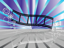 Film stripe Royalty Free Stock Photos