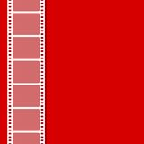 Film Stripe. Vector illustration of plain background with film stripe Royalty Free Stock Photo