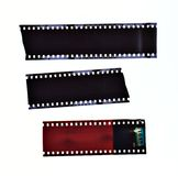 Film stripes Royalty Free Stock Photos