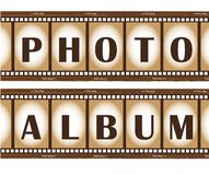 Film stripes Stock Images