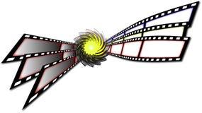 Film stripes Royalty Free Stock Photo