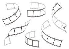 Film stripes Stock Image