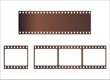 Film strips Royalty Free Stock Photos
