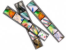 Film strips Stock Photo