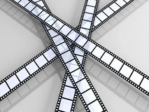 Film Strips Royalty Free Stock Image