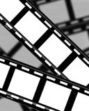 Film Strips 2. A Film strips background image Stock Image