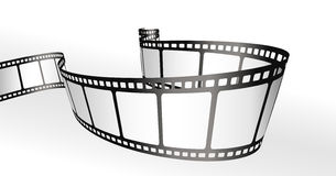 Film strips. Black and white vector Royalty Free Stock Images