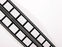 Film strips. Films side lined Royalty Free Stock Photo