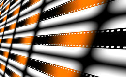 Film strips as background. Royalty Free Stock Images