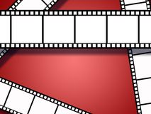 Film strips background. Background / wallpaper with film strips Royalty Free Stock Photos
