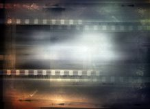 Film strips background. Copy space Royalty Free Stock Image