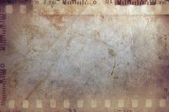 Film strips background. Film negative frames grunge background Royalty Free Stock Photography