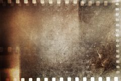 Film strips background. Film negative frames grunge background Stock Image