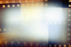 Film strips background. Film negative frames background, copy space Royalty Free Stock Photos
