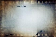 Film strips background. Film negative frames background, copy space Royalty Free Stock Photos