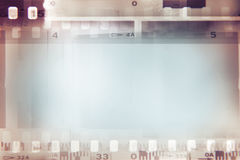 Film strips background. Film negative frames background, copy space Royalty Free Stock Photography